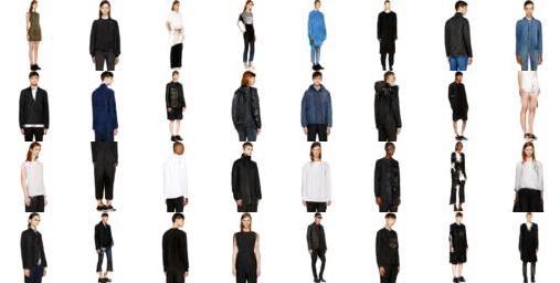 DCGAN on FashionGen | PyTorch